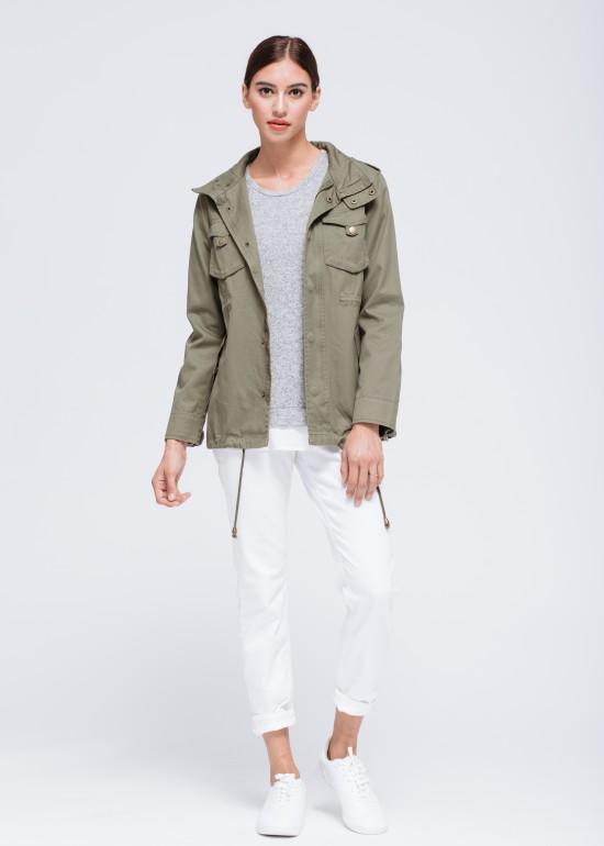 Distressed Military Jacket