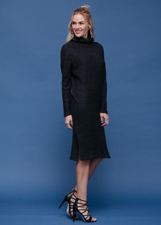 Cozy Knit Sweater Dress