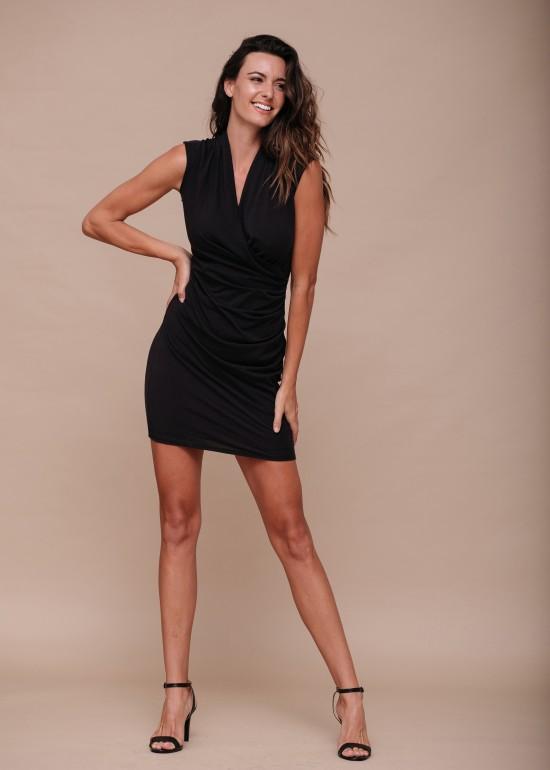 Wrap Bodycon Dress