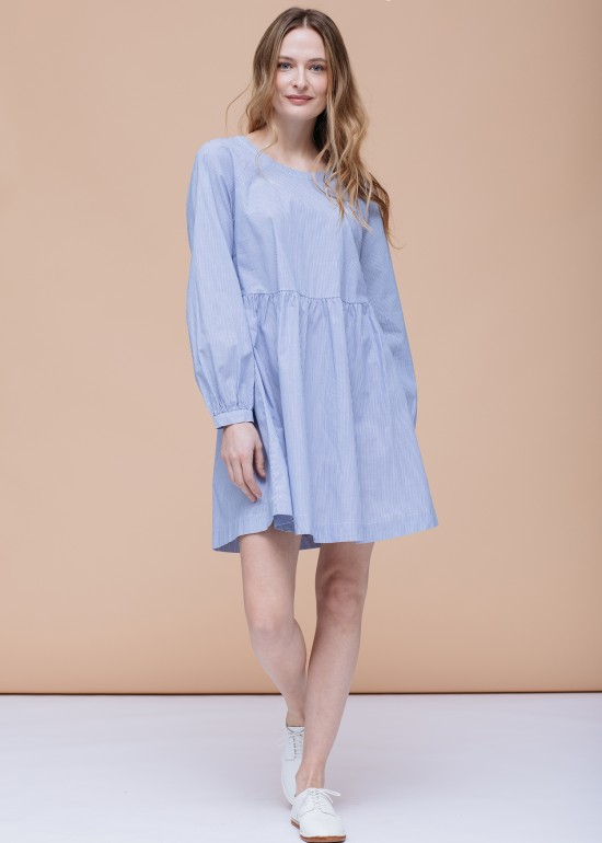 Tie Back Casual Dress